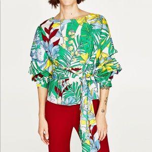 Zara Multi Wrap Top
